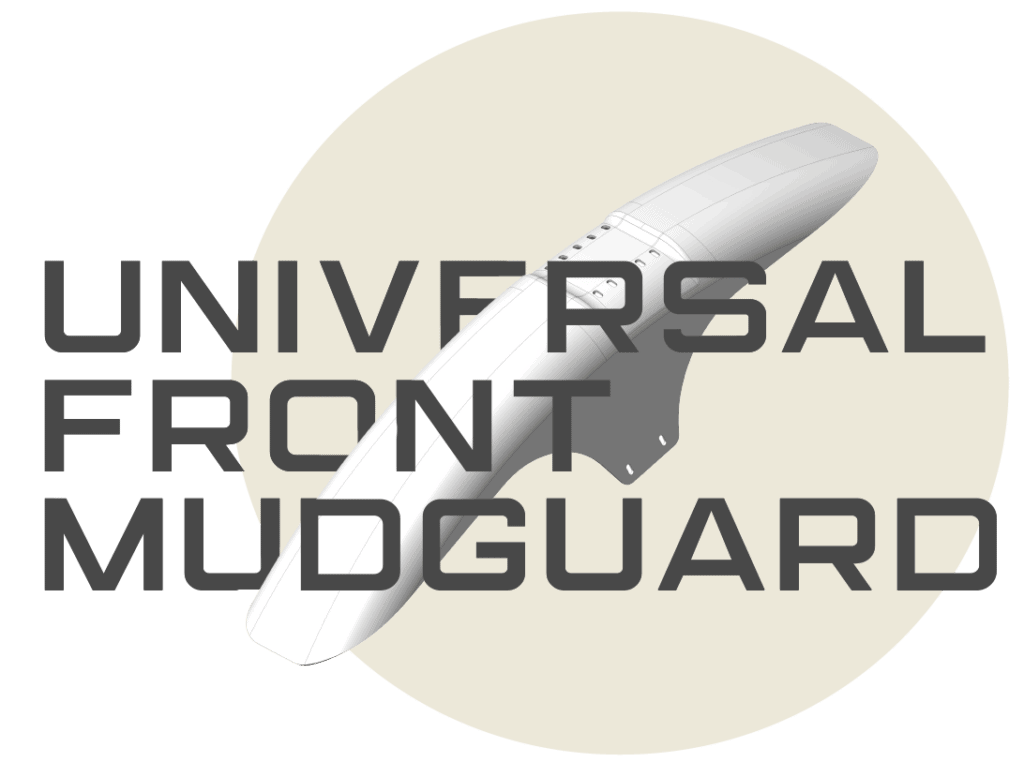universal front mudguard